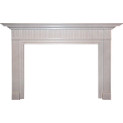 Salvaged Vintage Federal Style Fireplace Mantel