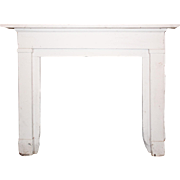 Salvaged Antique Fireplace Mantel, Late 19th Century