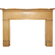 Reclaimed Antique Fireplace Mantel, Early 1900s
