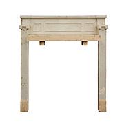 Salvaged Antique Tudor Fireplace Mantel, Quatrefoils