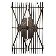 Substantial Pair of Antique Iron Gates, Late 1800s
