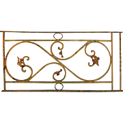 Antique Ironwork Panel with Foliates