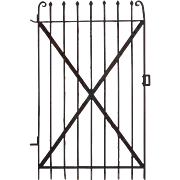 Antique Wrought Iron Gate, c.1880