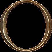 """Reclaimed Cast Bronze Letter """"O"""", Cincinnati, OH"""