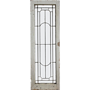 Antique American Leaded and Beveled Glass Windows