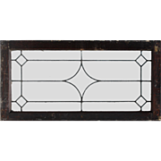 Antique American Leaded Glass Transoms