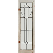 Delightful American Leaded and Beveled Glass Windows
