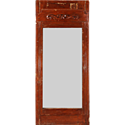 Antique Mirror from Wardrobe, Early 1900s