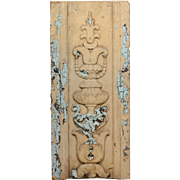 Antique Neoclassical Terra Cotta Decorative Piece, c. 1910