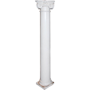 Salvaged Antique Ionic Column, Early 1900s