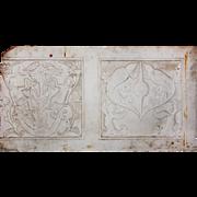Antique Figural Marble Decorative Piece