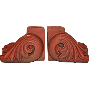 Antique Terracotta Façade Ornaments