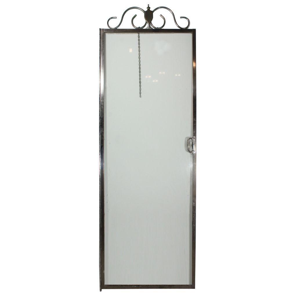 Stunning Antique Framed Glass Shower Door, Keystone Shower Door Co