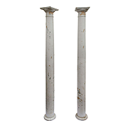 Salvaged Antique Columns, Early 1900s
