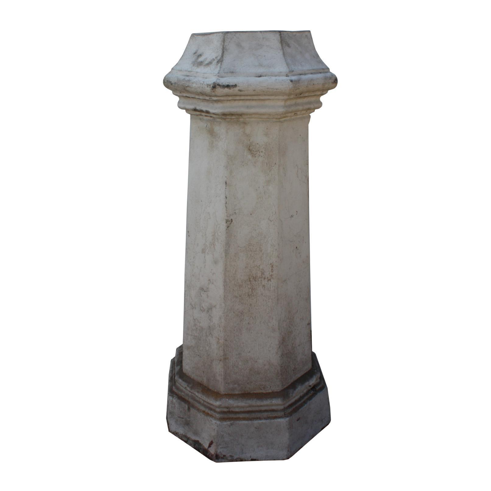 Reclaimed Antique Terra Cotta Chimney Pot, Early 1900's
