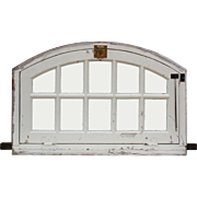 Antique Arched Door Transoms, Early 1900s
