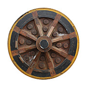 Antique Industrial Wood Mold, Early 1900s