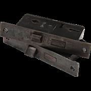 "Rare Antique Mortise Locks by Russwin, Narrow 1-1/2"" Backset"