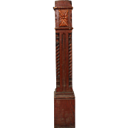Reclaimed Boxed Newel Post, 19th Century