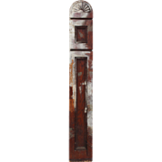 Salvaged Antique Eastlake Oak Newel Post, Late 19th Century
