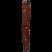 Salvaged Antique Eastlake Oak Newel Post, Late 19th Century