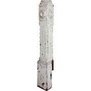 Salvaged Antique Newel Post, c. 1880