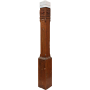 Salvaged Antique Newel Post, 19th Century