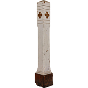 Reclaimed Antique Newel Post, 19th Century