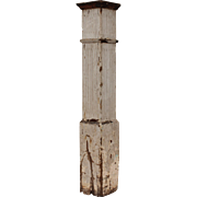 Reclaimed Antique Newel Post, Early 1900s