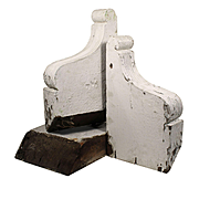 Salvaged Antique Corbels, Late 19th Century