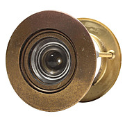Very Unusual Vintage Tilting Peephole for Door, 1947 Patent Date