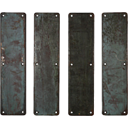 Antique Push Plates, Early 1900s