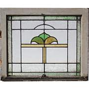 Antique American Stained Glass Windows, Early 1900s