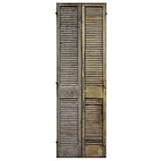 Reclaimed Interior Wood Shutters from Alabama Plantation