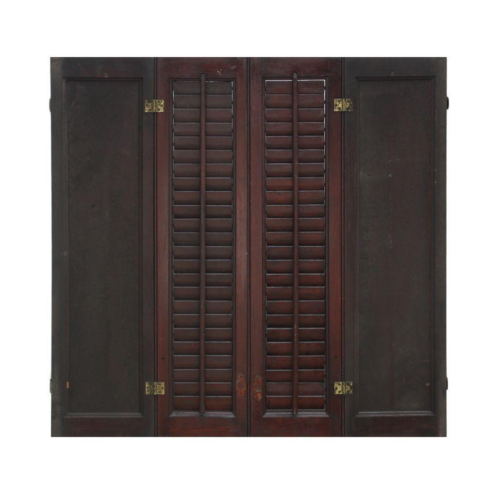 Salvaged Interior Wood Shutters, Late 1800's