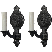 Tudor Single Arm Sconces, Antique Lighting