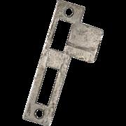 "Antique Strike Plates for Mortise Locks, 19/32"" Spacing"