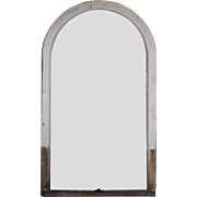 Salvaged Antique Arched Window, 19th Century