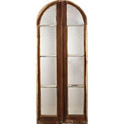 Reclaimed Antique Arched Casement Windows, c. 1910