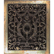 Antique Neoclassical Wall Vent, Early 1900s
