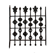 Antique Wrought Iron Window Guard, Early 1900s