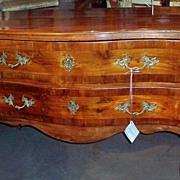 An Italian rococo commode , mid 18th century