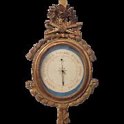 Louis XVI Style Giltwood Barometer