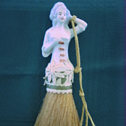 1920's Colonial Doll Broom Brush