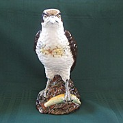 Royal Doulton Osprey Bird Figurine Scottish Whisky Flask or Flaggon