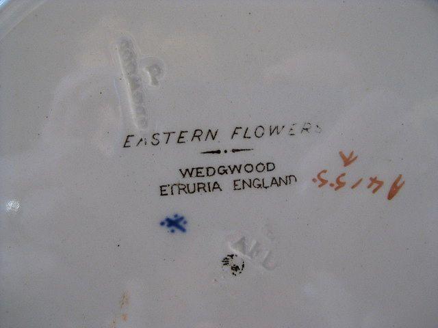 Dating wedgwood etruria
