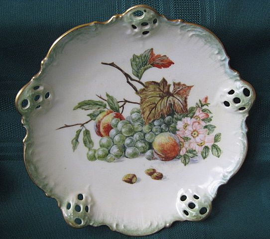 Rosenthal Hand Painted Signed Porcelain Dish Linda S