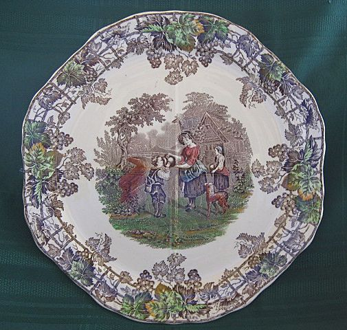 """Copeland Spode """"Byron Series"""" Scenic Plate"""
