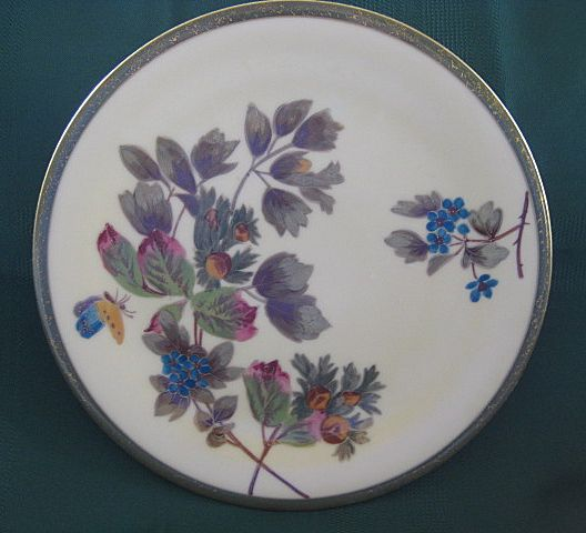 Hand Painted Decorating Plate