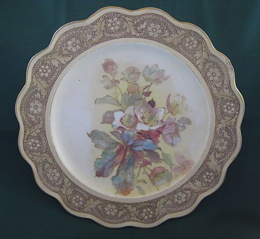 Doulton Hand Painted Decorator Plate 1891-1902